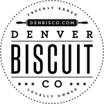 denver biscuit logo white